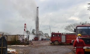 India – Oil Well Gas Blast – About 2,500 People Evacuated