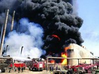 Iran – Fire At Tehran Oil Refinery Kills One, Injures Another