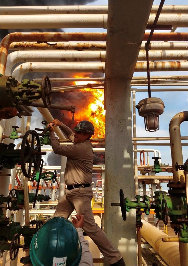 Mexico – Explosion & Fire Rock PEMEX Refinery- 7 Injured